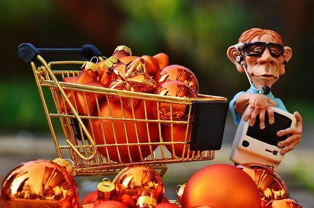 pán nakupuje přes pc