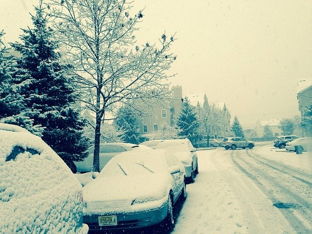 zssněžená ulice