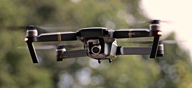 létání drone