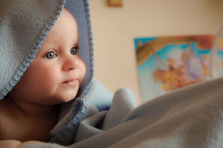 miminko v dece