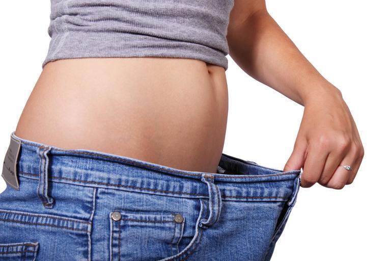 rozdíl v pase po držení diety