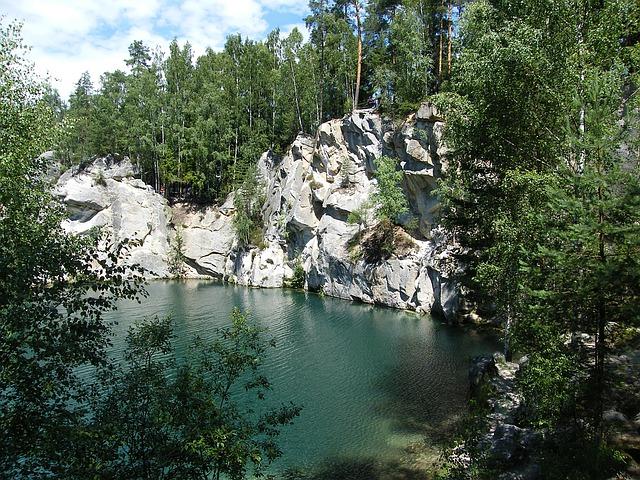 jezero v adršpachu