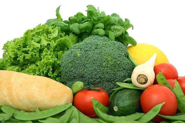 hromada zeleniny