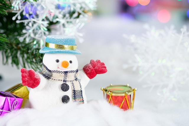 sněhulák, vánoční dekorace