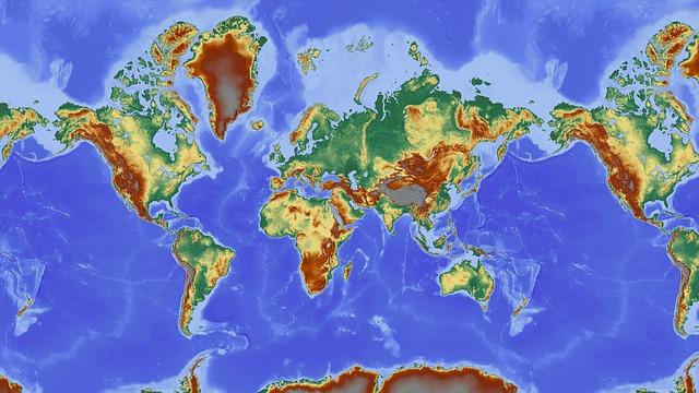 nástenná mapa