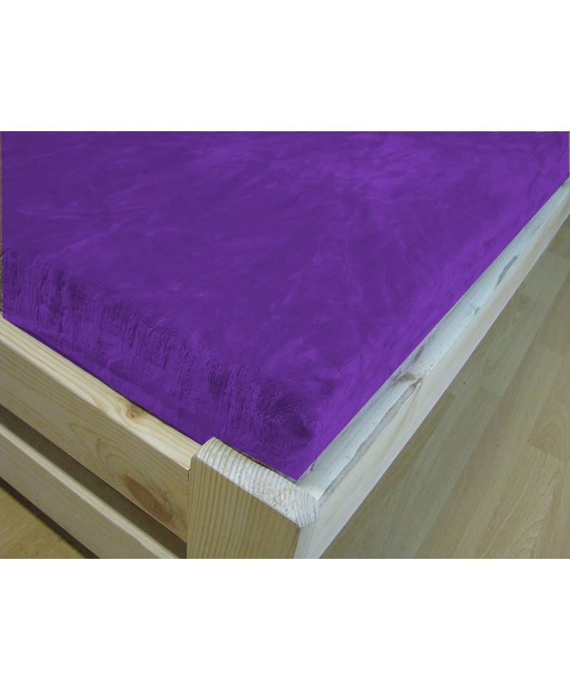 mikroplysove-prosteradlo-mikroflanel-jahu-90x200-fialova